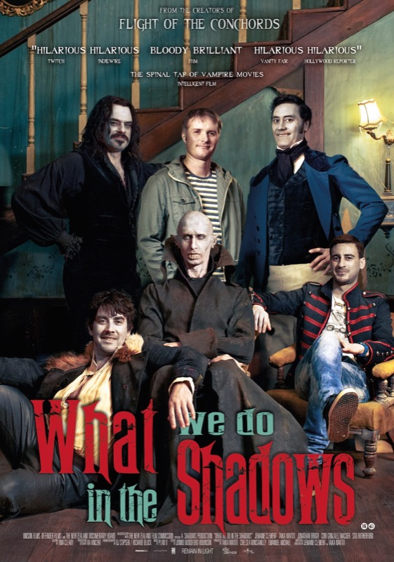 what we do in the shadows recensie poster