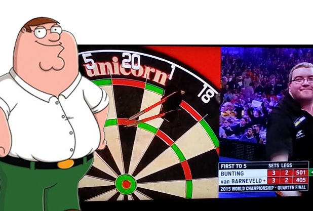 Look-a-likes Stephen Bunting en Peter Griffin