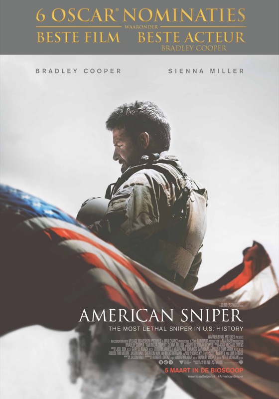 american sniper poster front 6 oscars