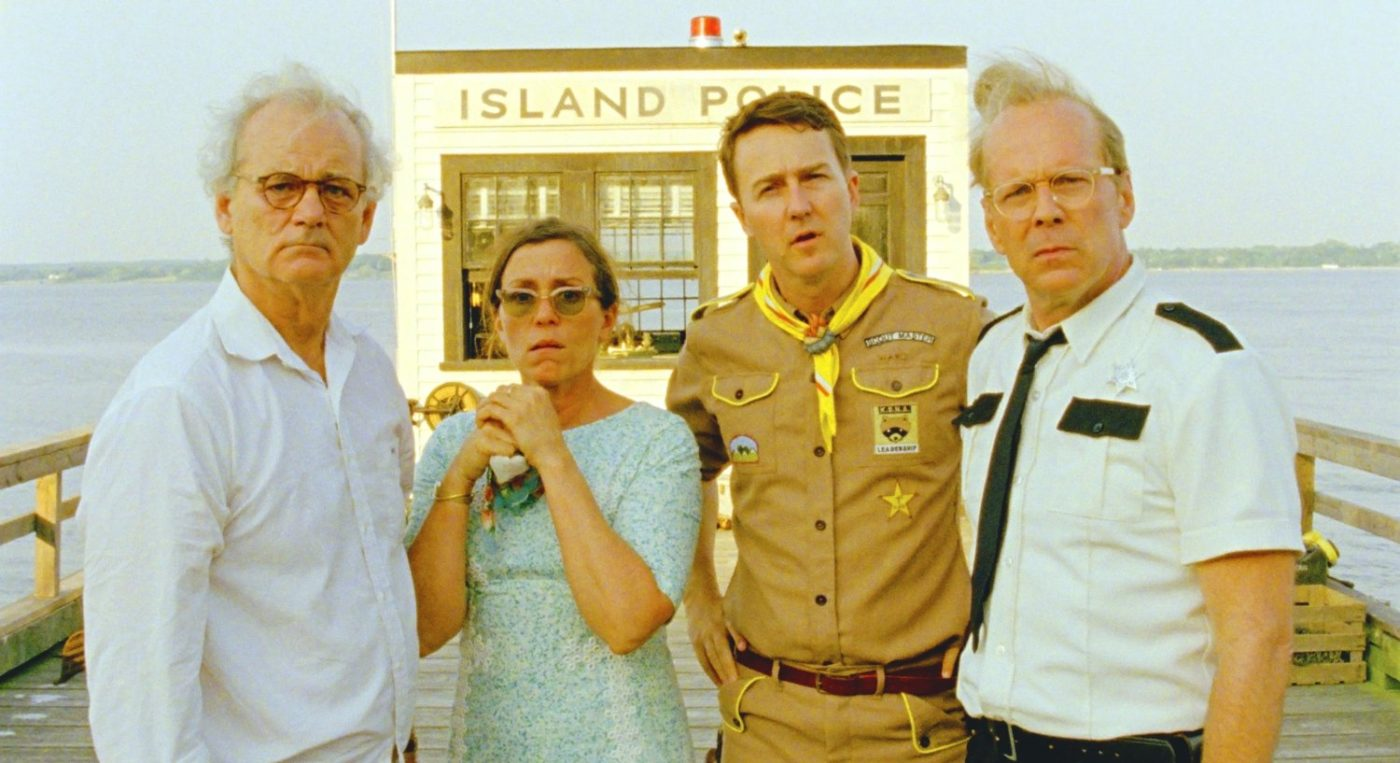 moonrise kingdom wes anderson netflix aanbod Nederland murray, willis, norton4