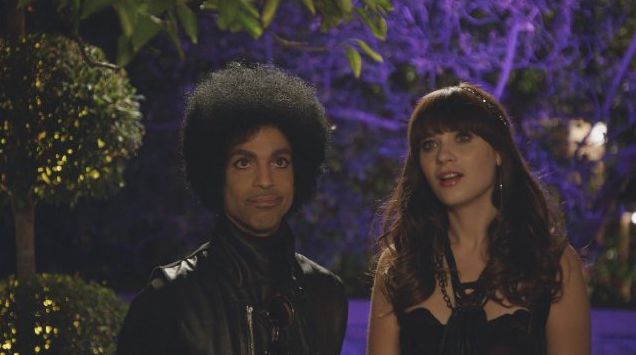 New Girl Prince guest appearance