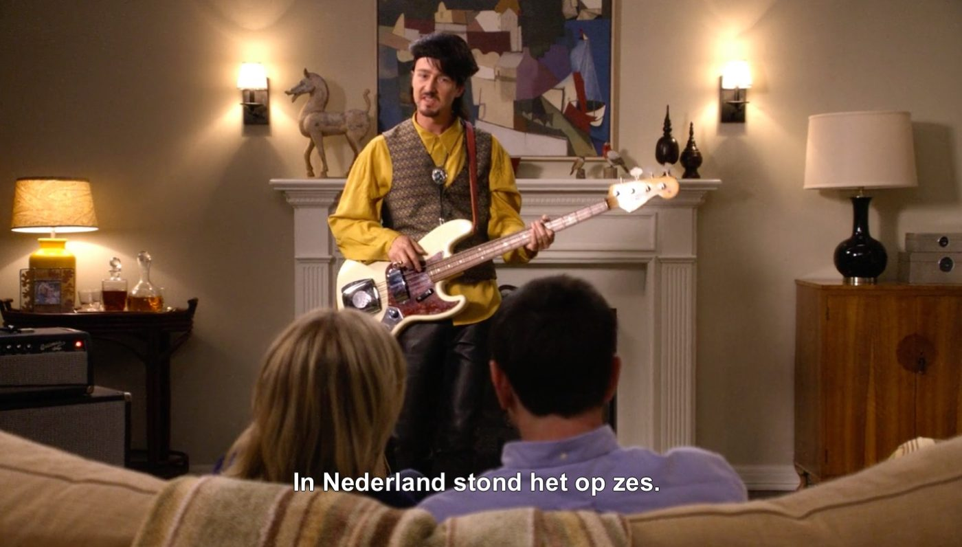 Edward Norton had muzikaal succes in ons land. Bron: Modern Family/Netflix