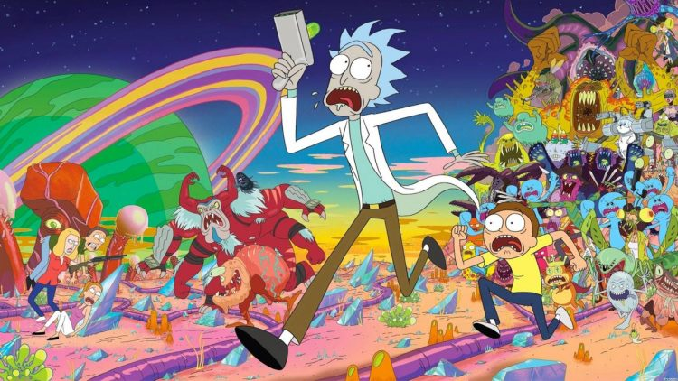 netflix aanbod week 44 2016 rick and morty comedy running