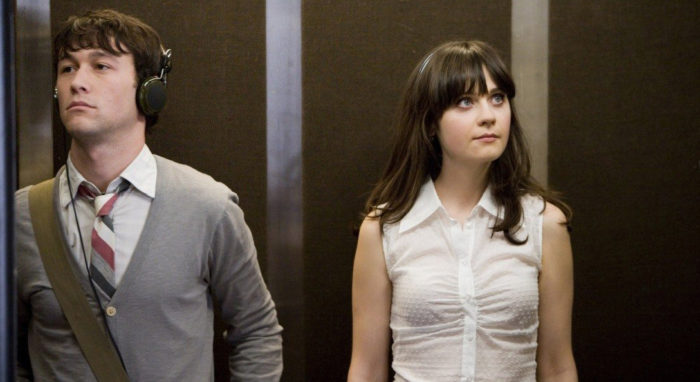 liefdesfilms op Netflix 500 days of summer lift elevator Smiths music
