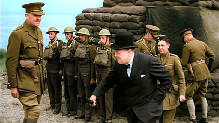 World War II in Colour Netflix aanbod Winston Churchill
