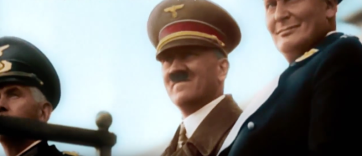 World War II in Colo ur Netflix aanbod hitler luftwaffe